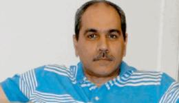 محمد بشير المدير الاداري للمبادرة المصرية للحقوق الشخصية