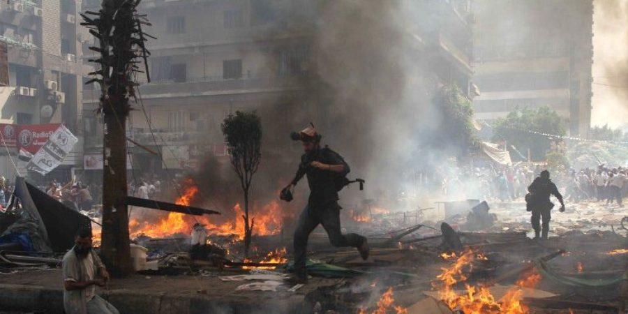 Rabaa Sqaure Dispersal [AFP PHOTO / MOSAAB EL-SHAMY/Flickr]